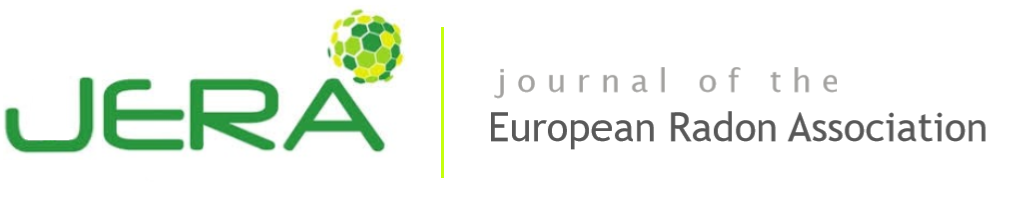 Journal of European Radon Association Logo/header